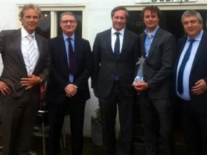 BPSolutions wint IBM Business Partner of the Year Award 2012