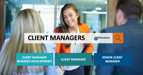 Vacatures Client Manager