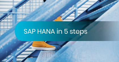 To SAP HANA in 5 steps