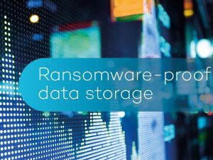 Ransomware-proof data storage
